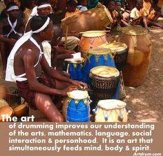 hand drum, rhythm making truth...