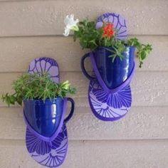 Hippy beach planters