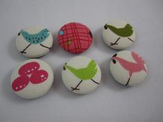 Rooster Magnets  Chicken Magnets  Cover Button by AdrisAdorables2, $5.00 #countrykitchen #whichcamefirst #rooster