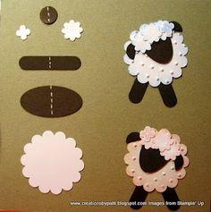 Punch art sheep