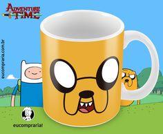 Caneca Jake - Adventure Time (Hora de Aventura) - pré venda