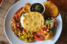stewed chicken casado el sabor de mi tierra   - Costa Rica