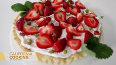 How to Make Sweet Laurel Bakery's Summer Strawberry Tart Low Carb Desserts, Gluten Free Desserts, No Bake Desserts, Strawberry Tart, Strawberry Desserts, Coconut Whipped Cream, Bakery Recipes, Paleo Dessert, Whole Food Recipes