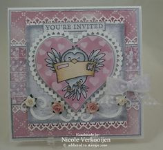 Nicole's stamp addiction: januari 2011 Youre Invited, Addiction, Van, Stamp, Invitations, Decor, Decoration, Vans, Stamps