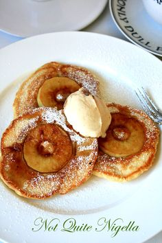 sour cream pancakes more sweet breakfast time food apples summer sour ...