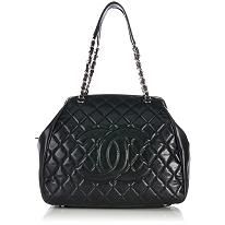 Chanel Quilted Caviar Leather Large Tote