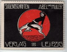 German Deco Poster Stamp