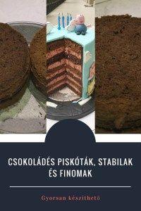 Csokoládés piskóta receptem