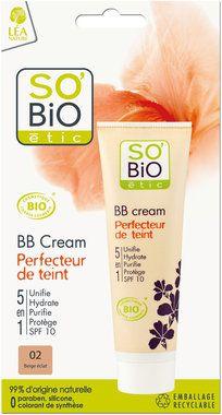 """SO'BiO étic BB Cream """"Perfecteur de teint"""""""