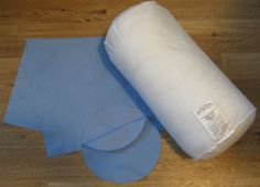 Free Directions to Sew a Round Bolster Pillow