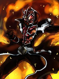 Kamen Rider Wizard/Now this fanart looks good