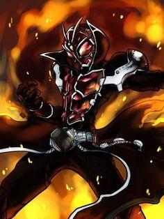 Kamen Rider Wizard/Now this fanart looks good