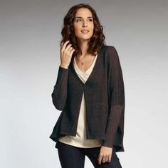 Double-Faced Cardigan  Indigenous Designs | Fair Trade Clothing | Eco Fashion | Organic Clothing