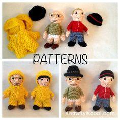 Breaking Bad inspired Amigurumi doll por craftyiscoolcrochet