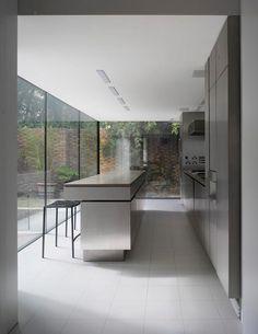 Kitchen ByPaul Archer. ProjectCross Street house