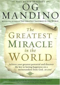 12 best books images on pinterest bonheur book and book quotes greatest miracle in the world by og mandino httpamazon fandeluxe Image collections
