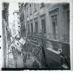 Calle Mayor 1919 - Archivo Ayuntamiento.Colección: FRANCISCO RAMOS MARTÍN