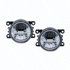 39.10$  Know more  - 2pcs Car Styling Round Front Bumper LED Fog Lights DRL Daytime Running Driving fog lamps For Honda Crosstour 2013-2014