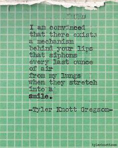 Typewriter Series #191 by Tyler Knott Gregson
