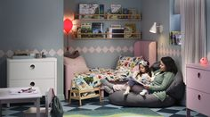 Make room for one more story Exterior Gris, Ikea Kids Room, Fashion Room, Girl Room, Home Furniture, Toddler Bed, Home Decor, Ikea Portugal, Bedroom Ideas