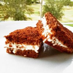 Fitness mléčné řezy - zdravý recept Bajola Healthy Cake, Healthy Snacks, Healthy Recipes, Healthy Cooking, Healthy Eating, Good Food, Yummy Food, Sweet Desserts, Food And Drink