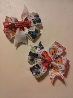 """Pair of La La Loopsy 3"""" hair clips by ThisNThatCraftsByJo on Etsy"""
