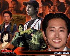 Welcome our next Salt Lake Comic Con FanXperience 2015 guest... actor Steven Yeun! He best known for portraying Glenn Rhee in the AMC series The Walking Dead where he received a Saturn nomination for Best Supporting Actor.
