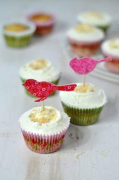 Cupcakes de tarta de queso de Hummingbird Bakery