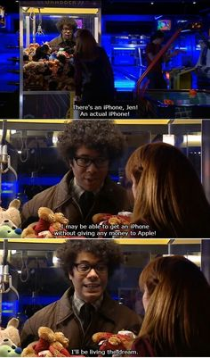 I think it was this moment that made it official to me that I was in love with this show. -the IT Crowd Labor Day, Richard Ayoade, British Comedy, Just For Laughs, Mikey, Movie Quotes, That Way, Laugh Out Loud, Favorite Tv Shows