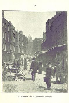 St. Nicholas and St. Patrick Streets, Dublin in 1895