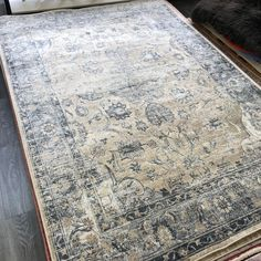 Blue Ivory, Beige, Classic Rugs, Contemporary Area Rugs, Traditional Rugs, Persian Rug, Oriental Rug, Malta, Vintage Looks