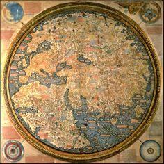 Si viajas a Venecia, contempla uno de los mapas más elaborados e importantes del mundo