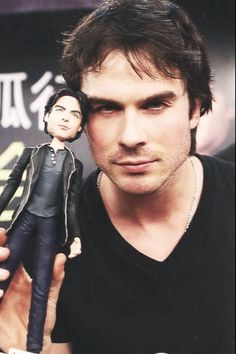 Ian Somerhalder | The Vampire Diaries | haha it looks just like him!