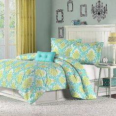 Home Essence Apartment Bella Comforter Set from Walmart... I think this one is my favorite out of all of them