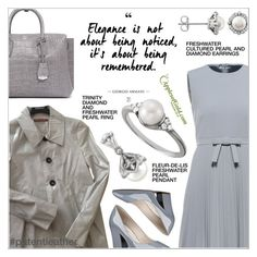 """""""Patent Leather & Pearls"""" by applesofgoldjewelry ❤ liked on Polyvore featuring Comptoir Des Cotonniers, RED Valentino, MCM and Nine West"""