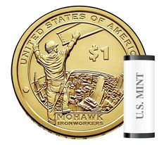 Native American 2015 One Dollar Coin, 25 Coin-Roll One Dollar, Dollar Coin, March Of Dimes, American Dollar, United States Mint, Gold And Silver Coins, Indian Tribes, Commemorative Coins, World Coins