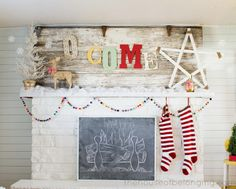 I want my mantel to look like this!