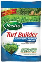 Scotts Turf Builder with Halts Crabgrass Preventer is from the Scotts Feed & Control Weeds Lawn Fertilizer product line. This lawn fertilizer h...