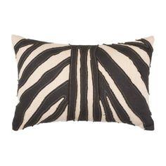 Africana Zebra Lumber Cushion 35x53cm - Bandhini Homewear Design