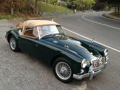 """My 1958 MGA, """"Sir Alfred""""."""