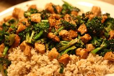 Chicken and Broccoli Brown Rice Stir Fry