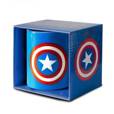 An awesome gift idea for Captain America fans! £6.99.