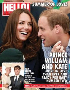 The Duke and Duchess of Cambridge (and Zara Phillips!) are on the cover of the new HELLO! Canada Magazine, dated August 18 and on newsstands Friday.
