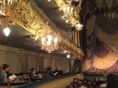 Мариинский театр - первый и второй ярус--Mariinsky Theatre - the first and second tier