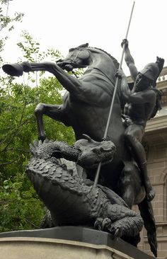 st george and the dragon 1889 | Flickr - Photo Sharing!