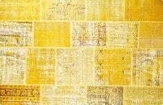 Vintage Patchwork Teppich - mozaiik Unikat Nr. 35TP