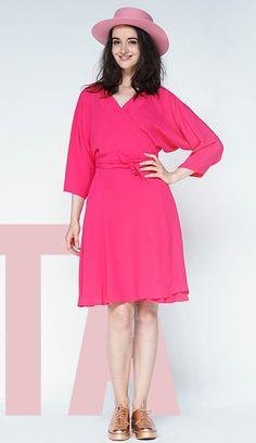 ROBE DITA SHOCKING PINK - https://www.wearlemonade.com/fr/robe-dita-shocking-pink.html