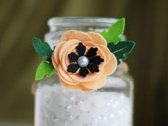 Fiore Corona, fascia del bambino, taglia tutti i fiore Hairband, corona di fiori di feltro di bambino, neonato fiore Corona, corona floreale di infante neonato