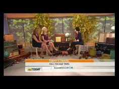 Where are the best places in the US to experience Fall Foliage? Fodor's Travel Executive Editorial Director, Arabella Bowen, stopped by the Today Show to reveal her picks.