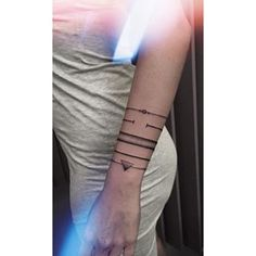 Like so… | 19 Tattoo-Bracelets That Will Look Amazing On You